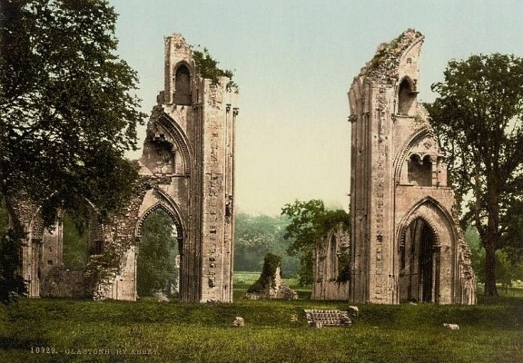 Glastonbury Abbey I x