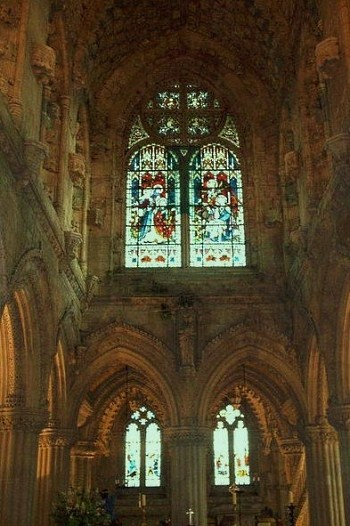 Rosslyn-Chapel Interior x