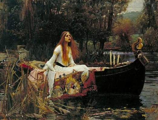 The Lady of Shalott x