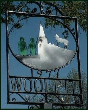Woolpit Village Sign x